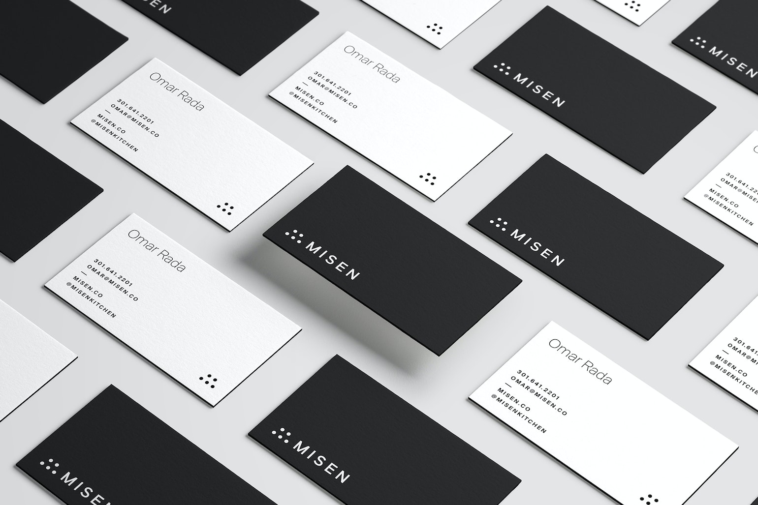 Misen Business Cards