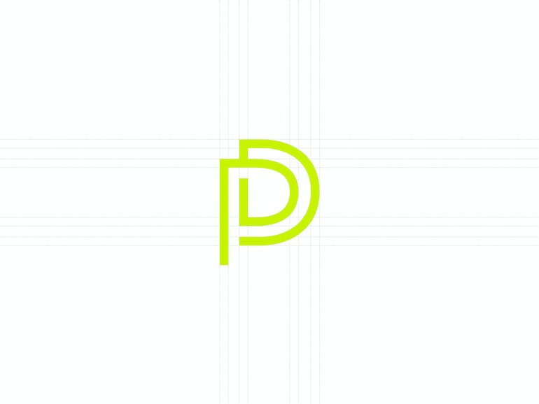 Pd Monogram Grid