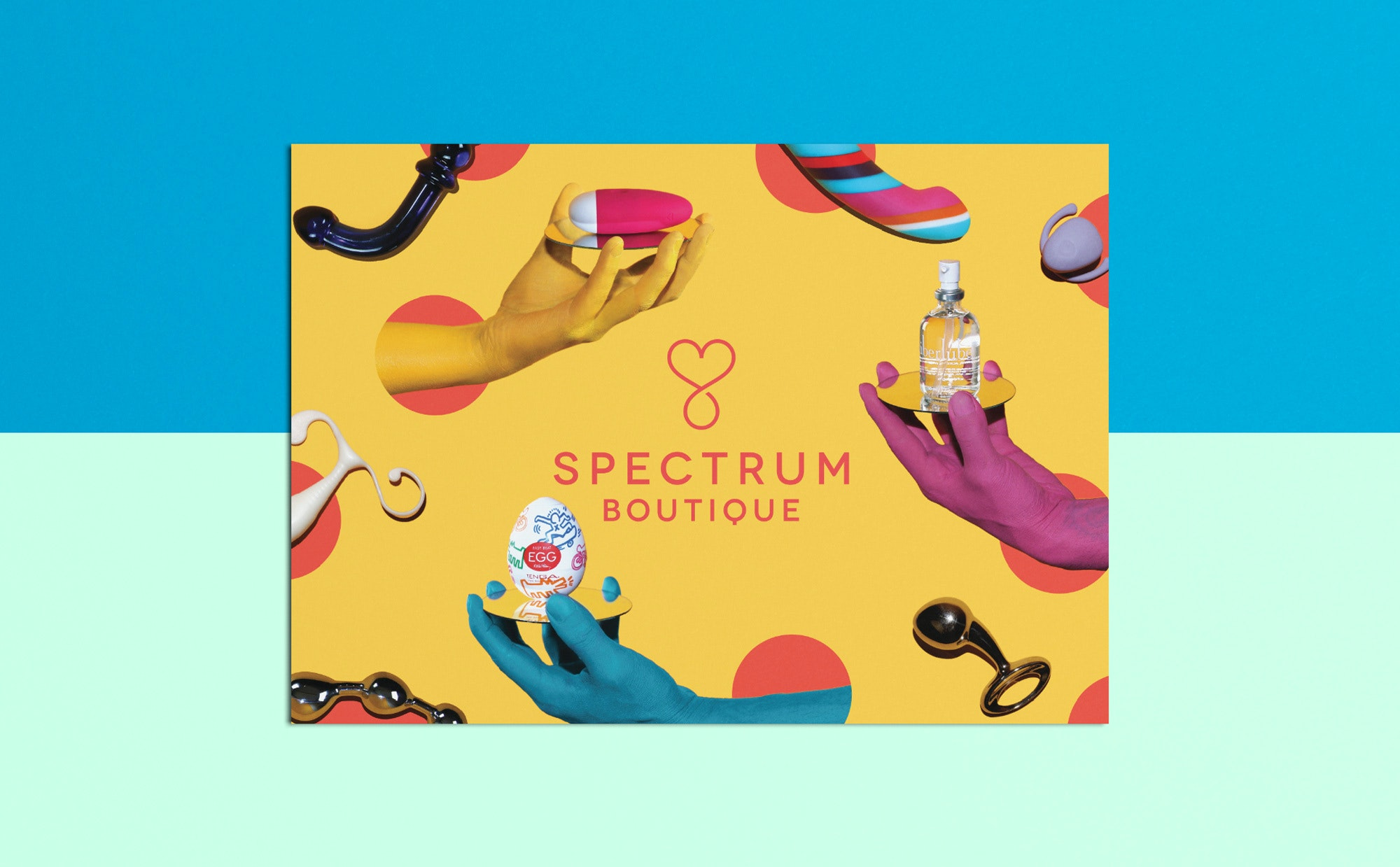Spectrum Boutique Postcard